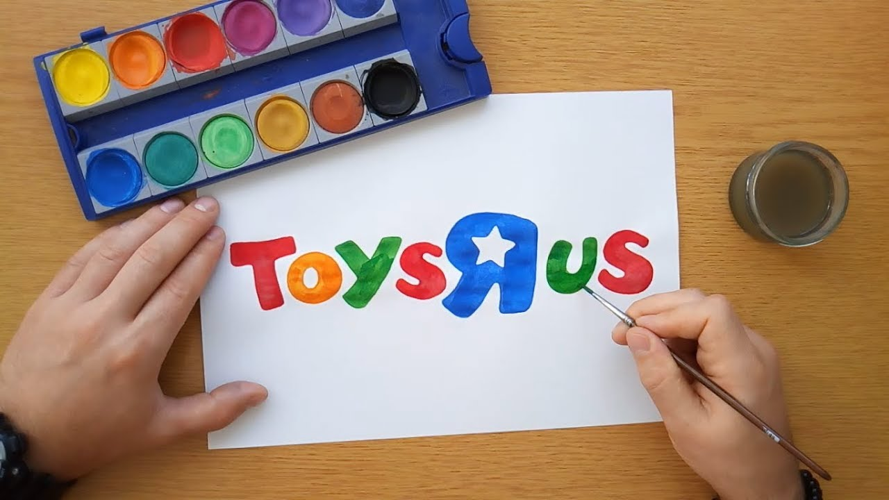 how to draw the toys r us logo youtube. Black Bedroom Furniture Sets. Home Design Ideas