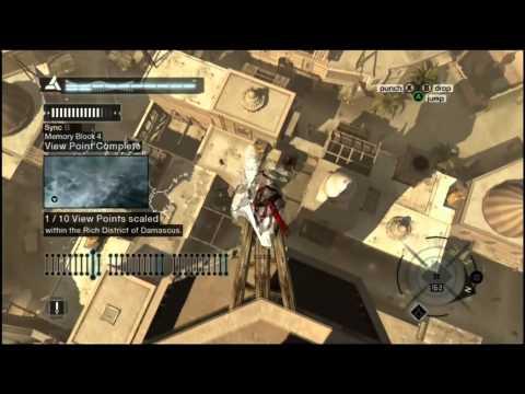 Assassin's Creed 1 - Memory Block 4 (Damascus) - Walkthrough Episode 15