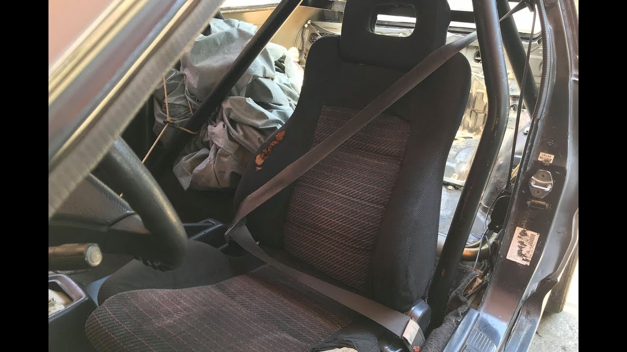 hight resolution of converting door seat belts to pillar mounted crx