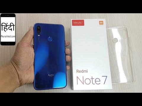 Redmi Note 7 4GB/64GB Blue Unboxing