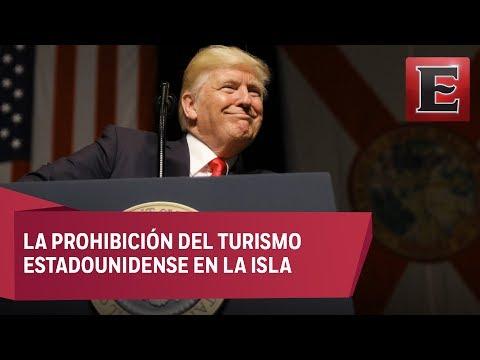 Trump revela su nueva política sobre Cuba