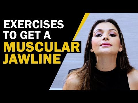 आकर्षक Jawline पाने की एक्सरसाइज़ | Facial Exercises To Get A Muscular Jawline