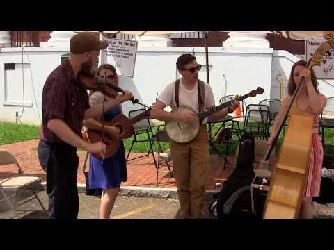 Columbus Stockade Blues- Empty Bottle String Band, 19 August 2017  Jonesborough Farmers Market