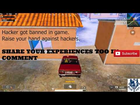 #PUBGMOBILE  HACKER GOT BANNED IN GAME  #BLUEFOXOFFICIAL