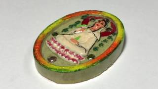 Kwan Yin Bodhisattva King of Butterfly Amulet Kroo Ba Krissana