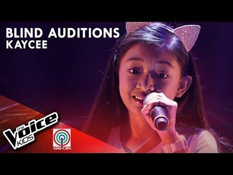 Kaycee David - Salamat | Blind Auditions | The Voice Kids Philippines Season 4