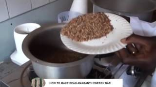 Bean Amaranth Energy Bar