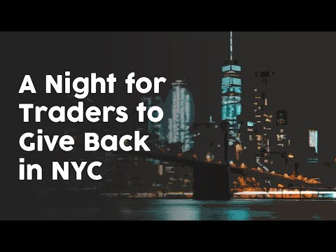 A night for traders to give back in NYC