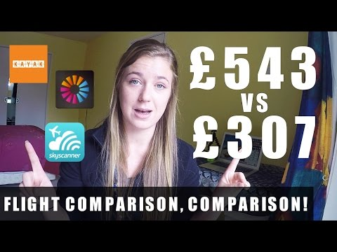 Comparing FLIGHT COMPARISON WEBSITES! Skyscanner Vs. Momondo Vs. Kayak
