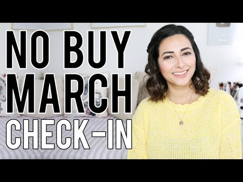 MARCH 2019 CHECK IN  My No Buy Year  Ysis Lorenna