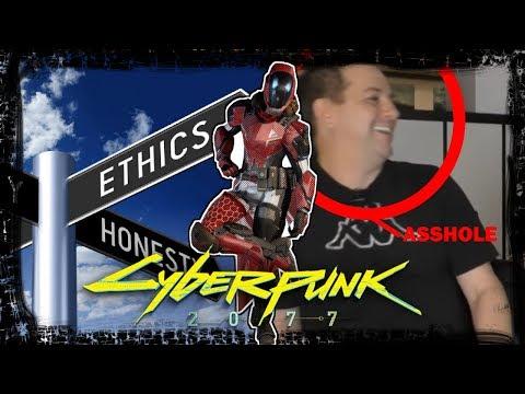 Cyberpunk 2077: The Cyberpunk Audio Leak RANT and the Idiot behind it.