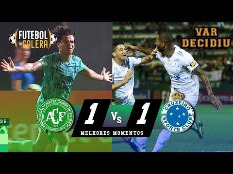Chapecoense 1 x 1 Cruzeiro   Melhores Momentos   HD 13/10/2019