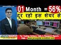 01 Month = 56 %  दूर रहो इस शेयर से | Latest Share Market Tips | Latest Share Market Videos,