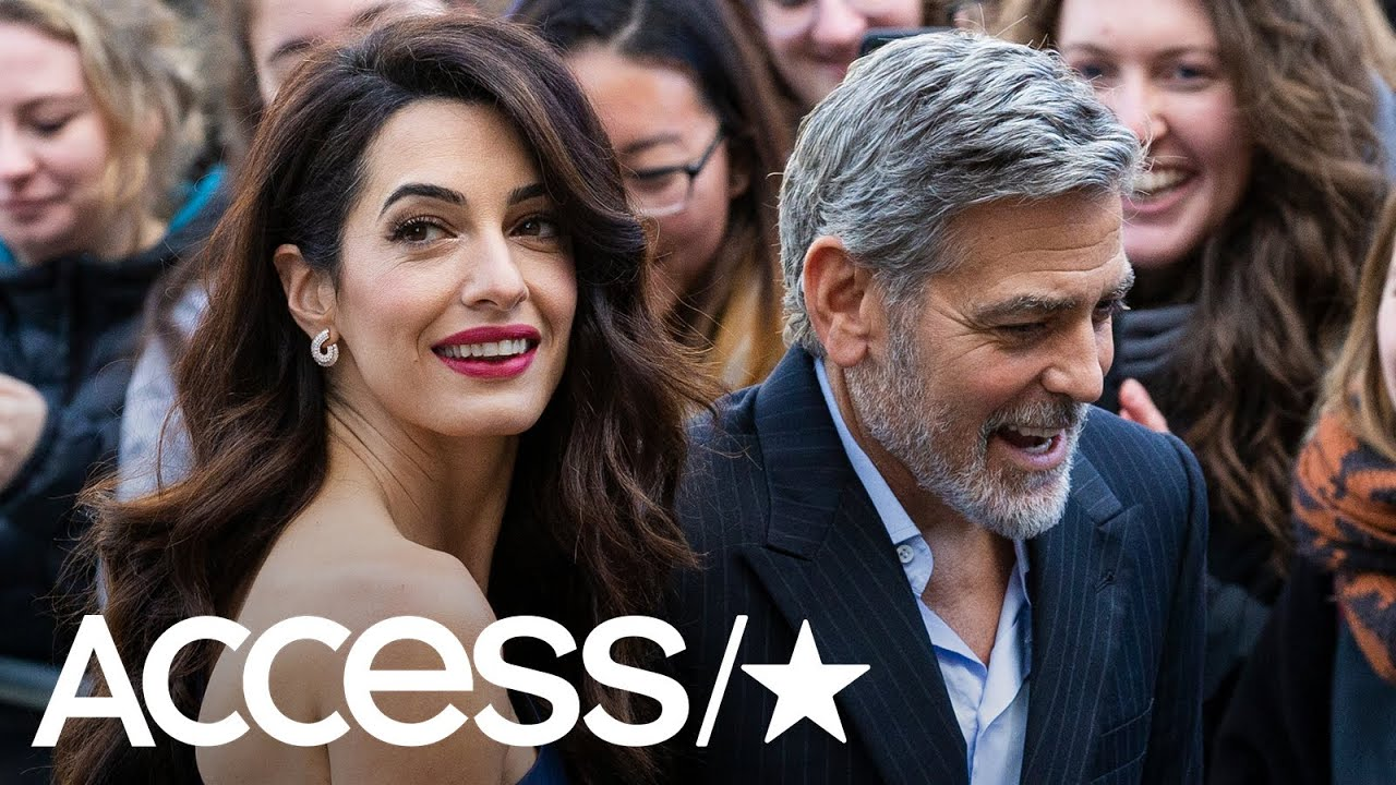 George & Amal Clooney Go Glam For A Special Honor At Scottish Charity Gala | Access