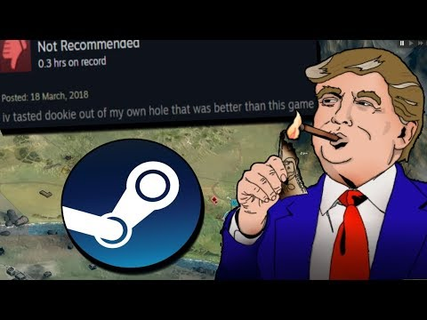 Finding The Worst Political Games On Steam
