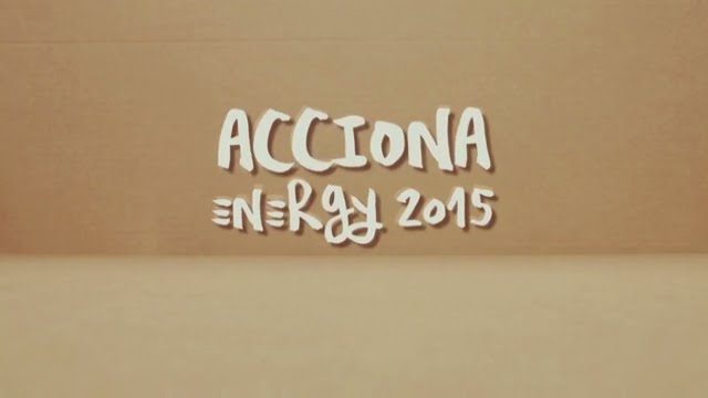 Energy | Annual Report 2015 | ACCIONA
