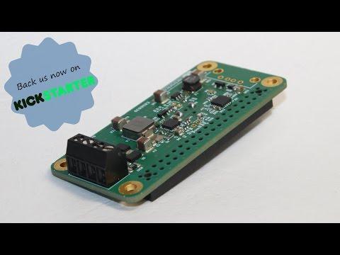 PiSolMan: Solar Power Management Module for the Raspberry Pi Zero.