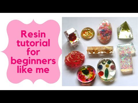 How to make epoxy resin jewellery