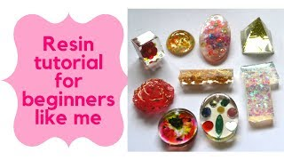 How to Use Resin for The First Time part 1/2 (for beginners)