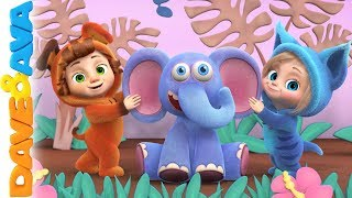 🍎 Kids Songs | Nursery Rhymes | Dave and Ava 🍎