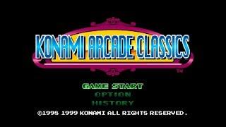 Konami Arcade Classics ps1 gameplay