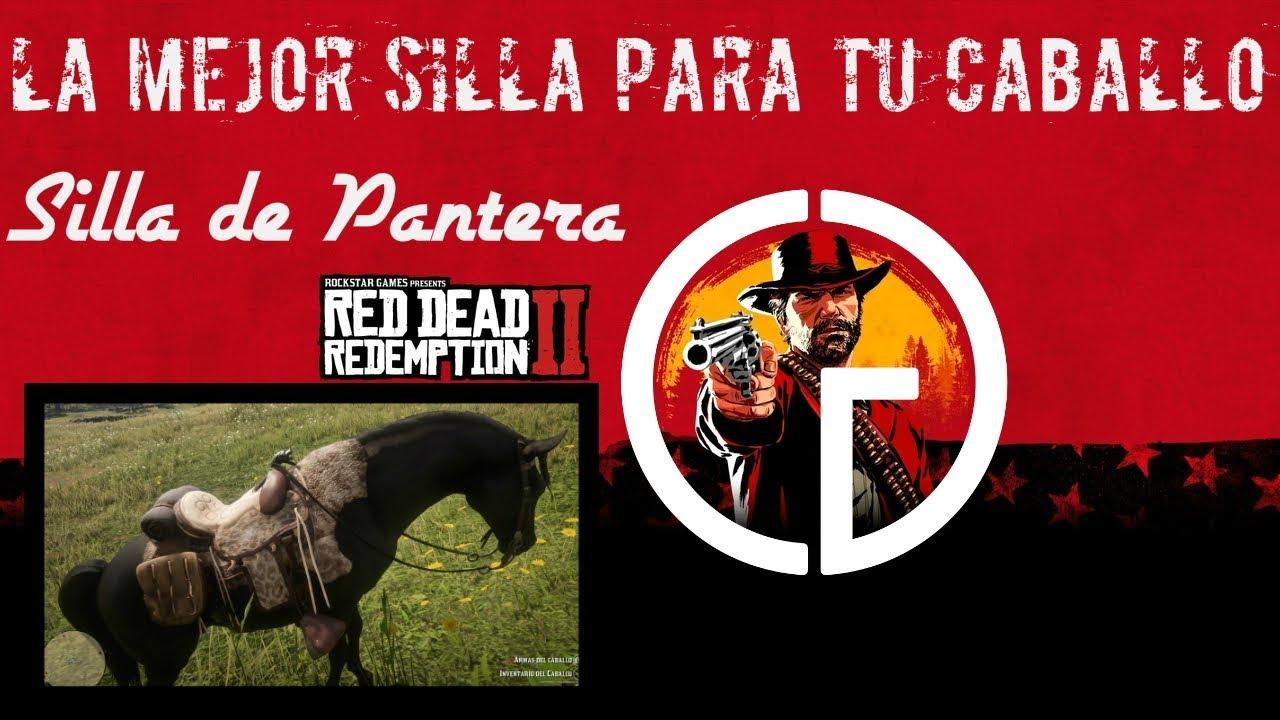 2 Redemption Red Conseguir Silla Mejor Dead Caballo De Pantera Como La R35jq4AL