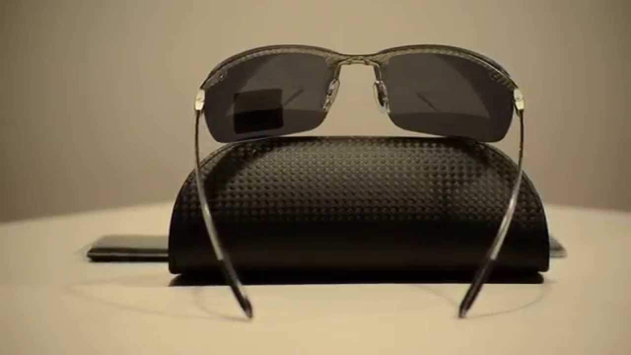 rb8306  New Ray Ban RB8306 Polarized Sunglasses 083/82 - YouTube