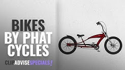 """Top 10 Phat Cycles Bikes [2018]: Phat Cycles Stretch 24"""" Beach Cruiser -- 3 Speed 24 RED"""