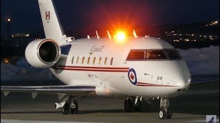 Canforce 1 (Justin Trudeau) Close-Up Arrival at Quebec City Airport (YQB)