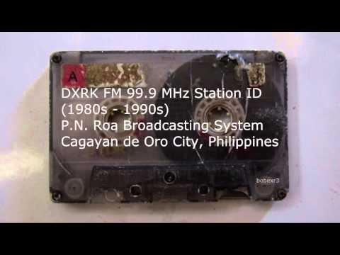 DXRK 99.9 MHz Station ID (1990) Cagayan de Oro
