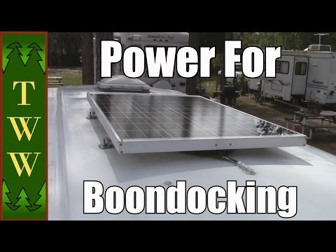 My RV's Solar, Generator and Battery Set Up for Boondocking