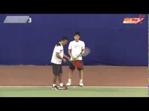 Học tennis qua video: Sửa lỗi cú trái 2 tay - bài học số 9