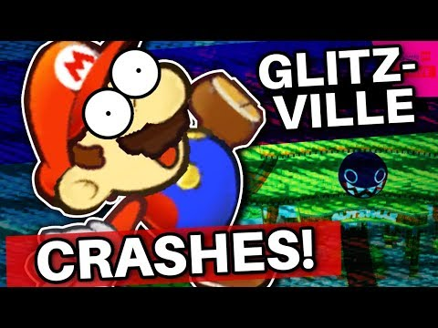 Going to Glitzville First CRASHES Paper Mario: The Thousand Year Door