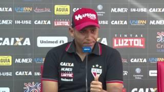 Walter revela seu peso atual no Atlético e em outros clubes