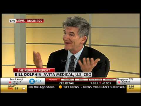 Great Interview With Bill Dolphin, Avita Medical's CEO On Sky News (11/28/12)