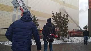 Г. Кемерово зимняя 🍒 пожар 25.03.2018