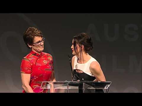 2015 Texas Film Awards - Bonnie Curtis' Award Presentation