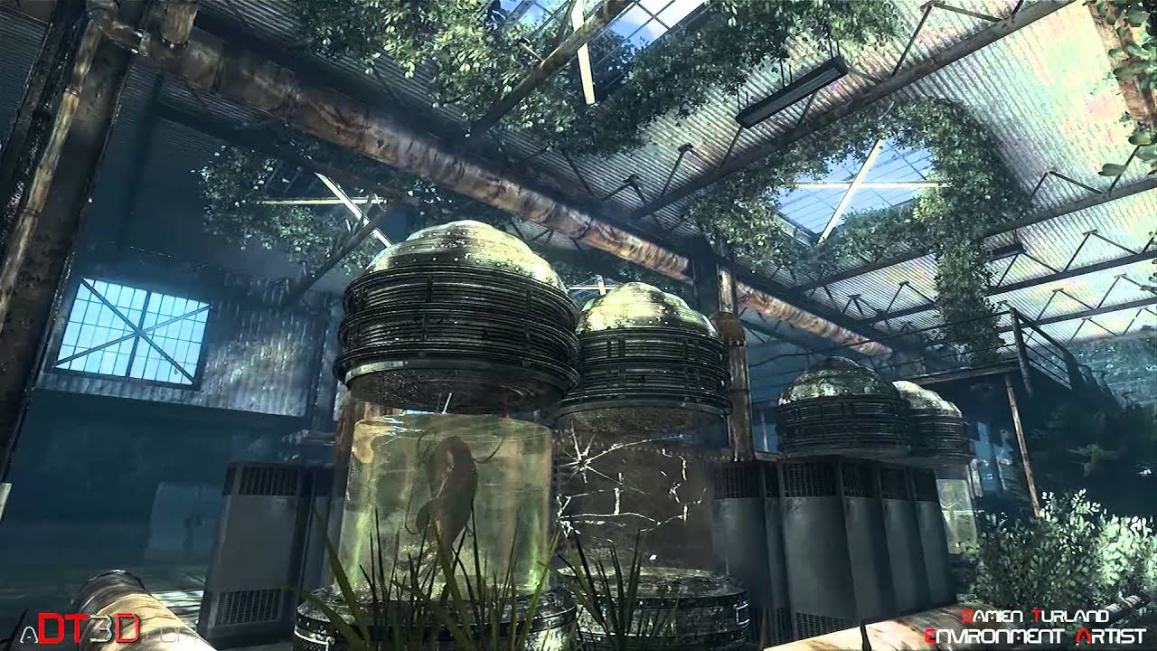 World Of Tanks Hd Wallpaper Jurassic Park Abandoned Lab Hd Remaster Youtube