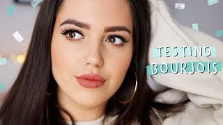 Testing Bourjois Makeup - Does It Work?! ✨ ad