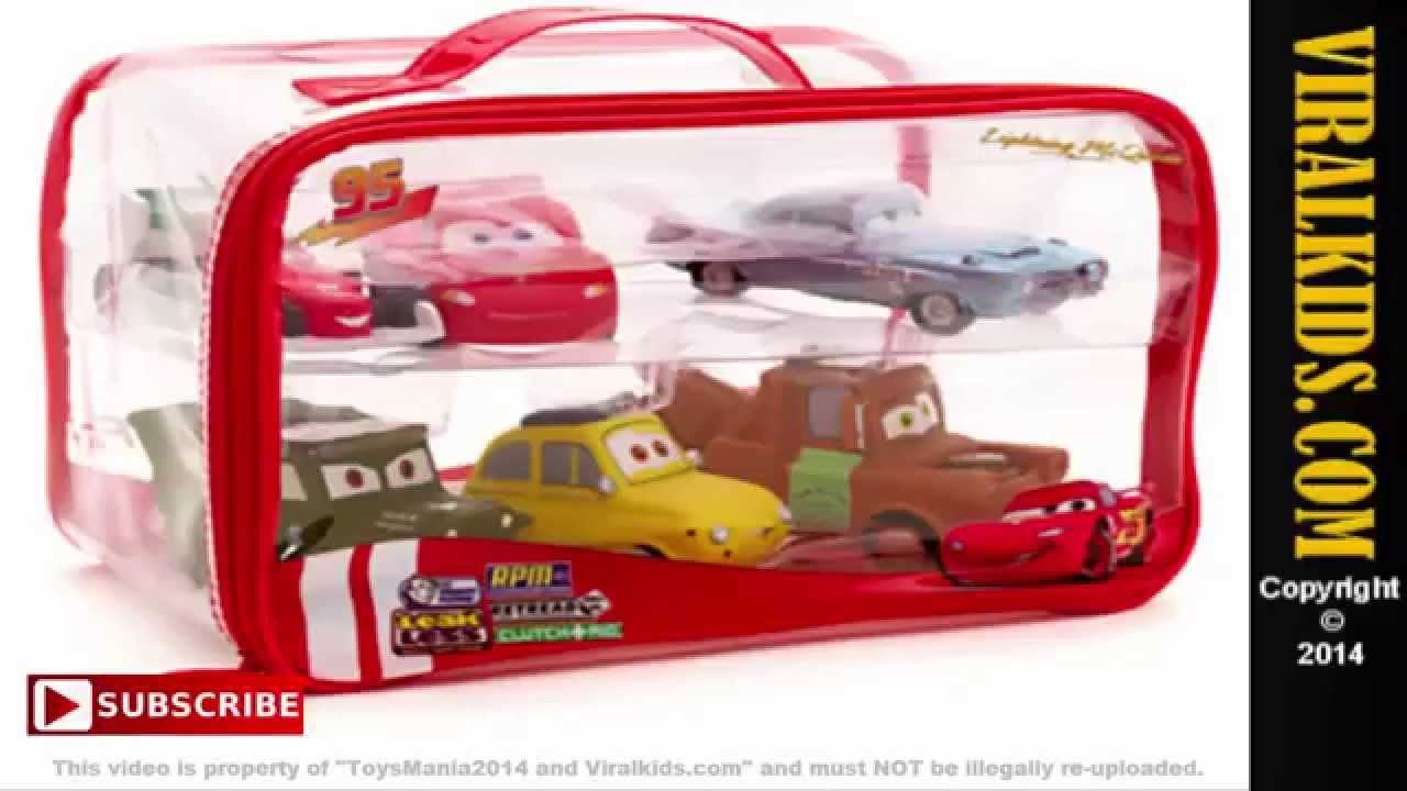 Disney Pixar Cars 2 Lighting Mcqueen 95 Bath Toys Review
