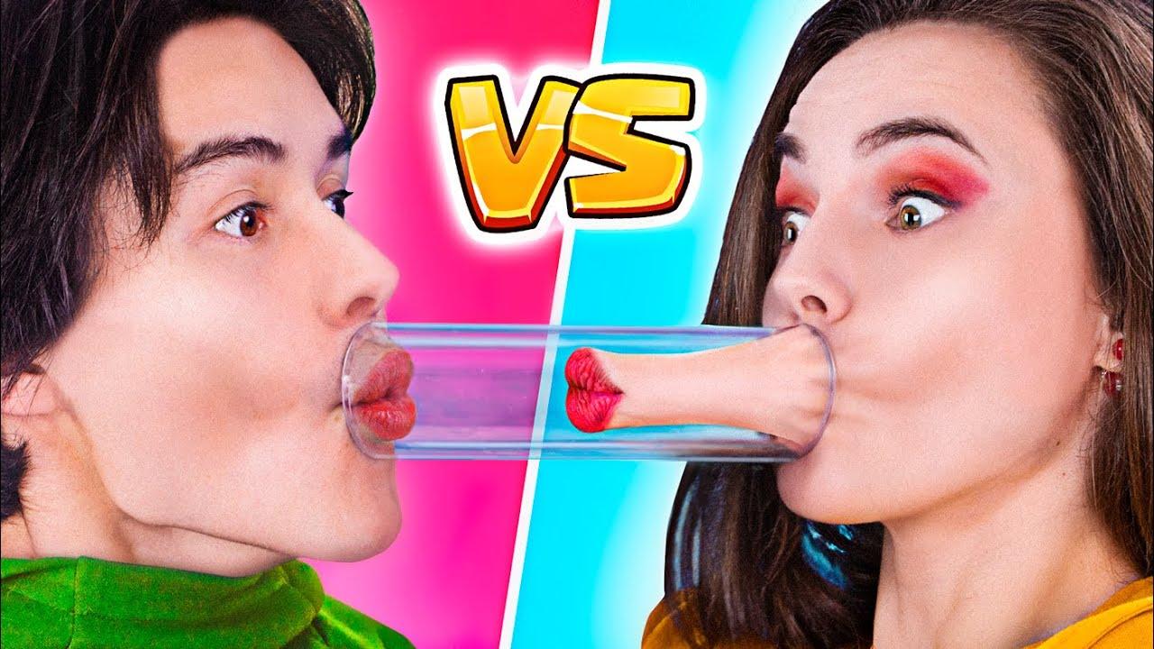 लड़के vs लड़कियां/ असली अंतर और मज़ेदार सिचुएशन