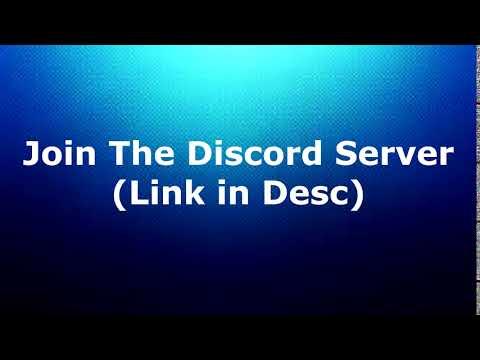 Join the Discord Server (Link on Desc)