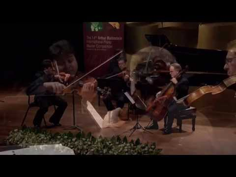 Antonii Baryshevskyi at the Finals A stage of the Rubinstein 2014 competition