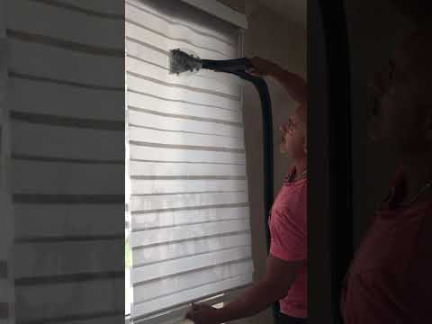 Steam Cleaning Blinds