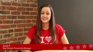 Quick Intro to Yelp's Orlando Community Manager