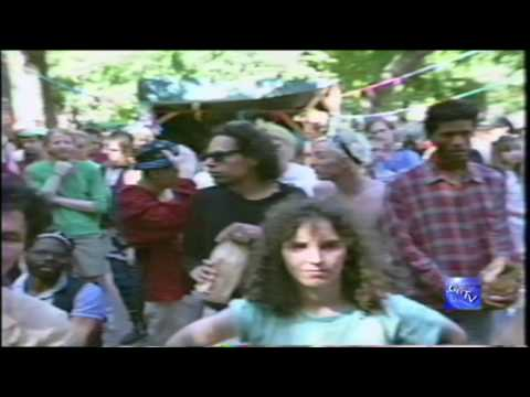 """G.B.T.V. CultureShare ARCHIVES 1989: ALLEN GINSBERG """"Poetry & C.I.A. Dope Calypso""""  (HD)"""