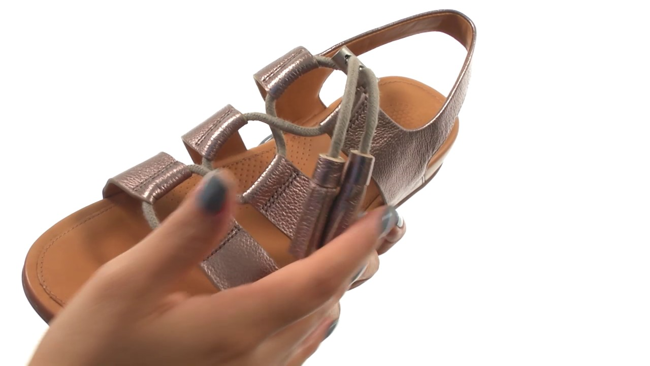13698a054fbd FitFlop Gladdie Lace-Up SKU 8850528 - YouTube