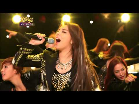 Ailee - I will show you, 에일리 - 보여줄게, Music Core 20121229