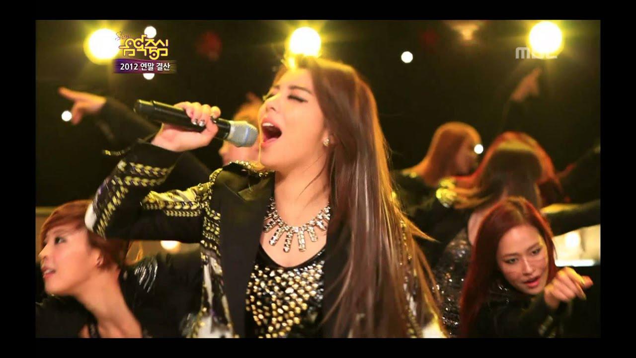 Ailee - I will show you, 에일리 - 보여줄게, Music Core 20121229