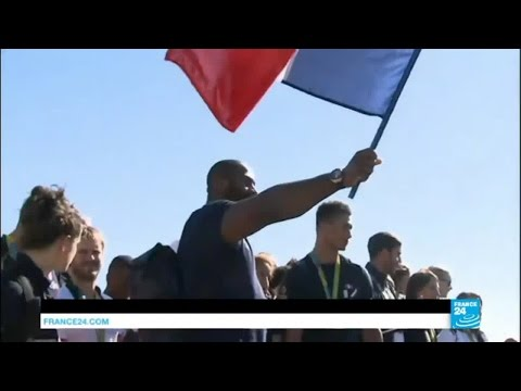 Rio 2016: France's olympic athletes return home in triumph